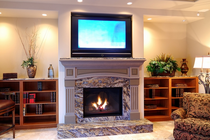 7 Ideas for Placing the TV Above Fireplace in Your Home
